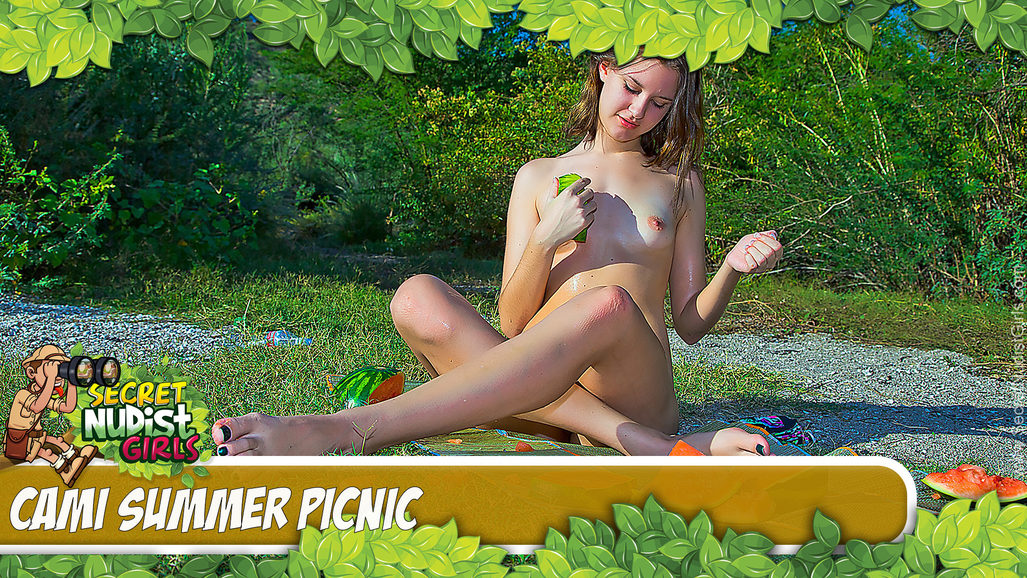 Cami in Summer Picnic