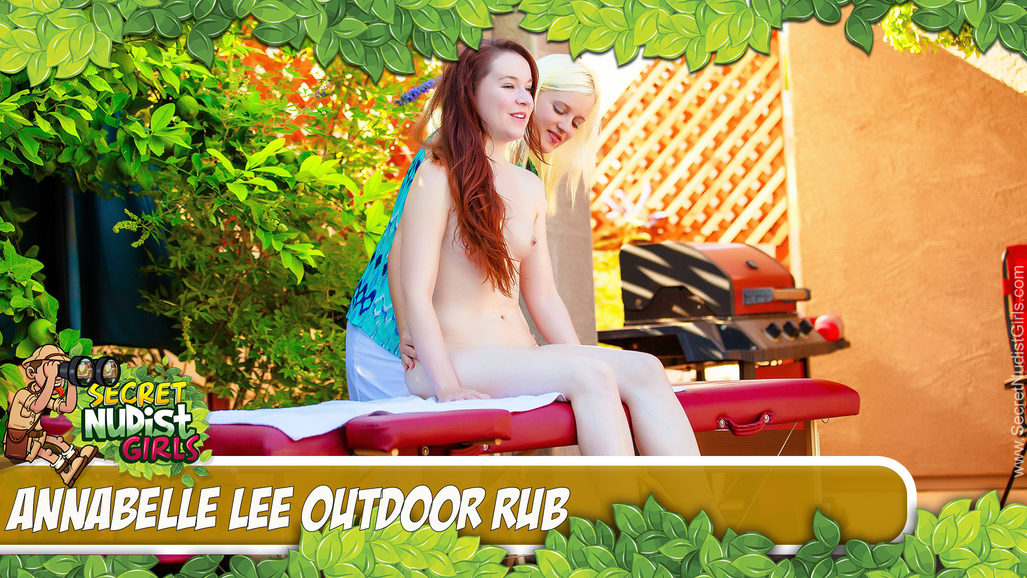 Annabelle Lee in Outdoor Rub