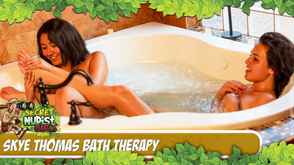 Violet Taylor in Bath Therapy
