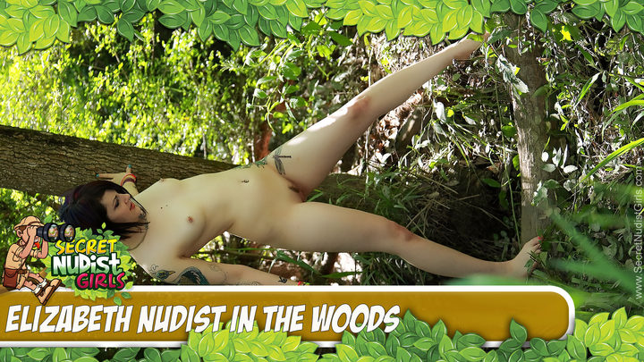 Elizabeth in Elizabeth Louisiana Forest Nudes - Play Video!
